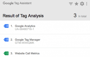 Google Chrome Extension to check Google Tag Manager tags