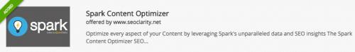 Spark Content Optimizer Chrome Extension
