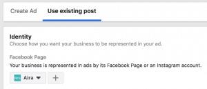 Create Ad Facebook