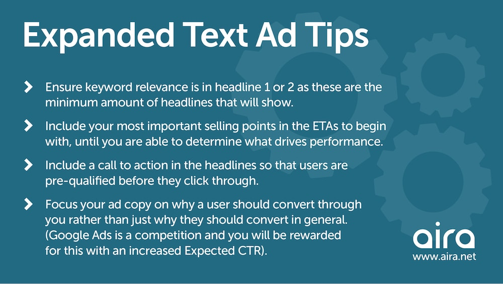 extended text ad tips