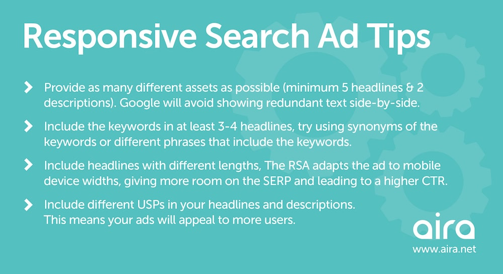 responsive search ad tips