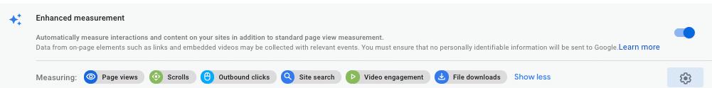 Auto measurement image