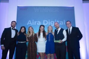 Aira Named Large Content Marketing Agency of the Year at UK Content Awards