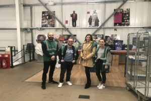 Aira Gets Thrifty - Volunteering at Oxfam's Online Hub