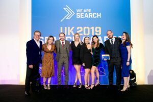 Aira Named Best Large SEO Agency at UK Search Awards 2019