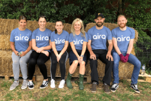 Aira Gives Back to the Local Community